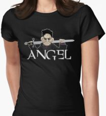 Angel - Smile Time Puppet Women's Fitted T-Shirt