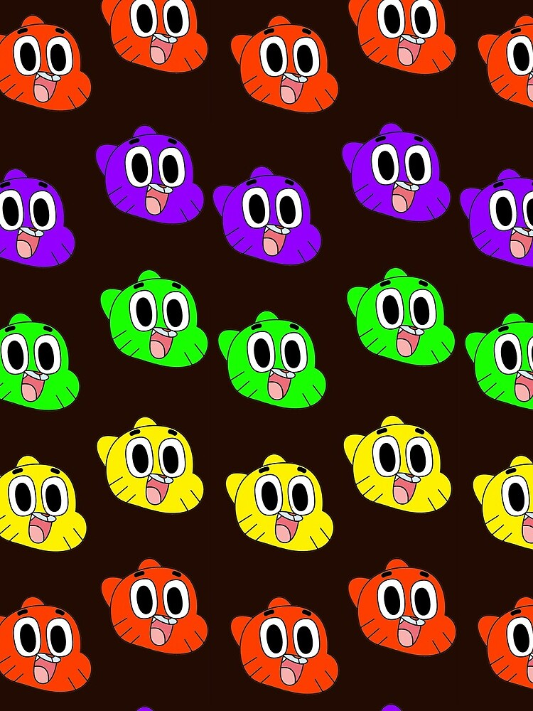 Rainbow Happy Gumball Watterson by km83