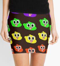 Rainbow Happy Gumball Watterson Mini Skirt