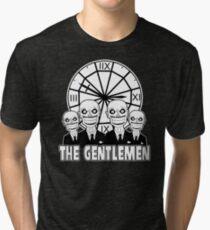 The Gentlemen Logo Tri-blend T-Shirt
