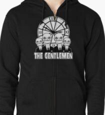 The Gentlemen Logo Zipped Hoodie