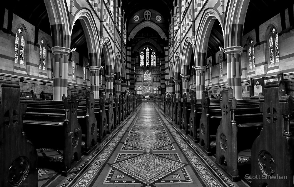 St Pauls Cathedral - Melbourne by Scott Sheehan