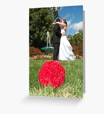 The foutaine Greeting Card