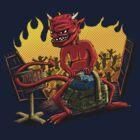 Hell in a Handbasket by weirdpuckett