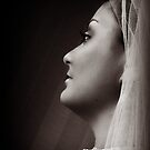 Bride in Profile by Erin Hause