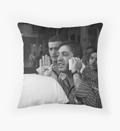 Passionate trading (Istanbul) Throw Pillow