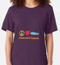 Peace Love & Zeppelin Slim Fit T-Shirt
