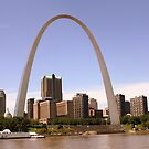 St Louis Arch by Chappy