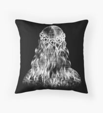 DEMETER black Throw Pillow