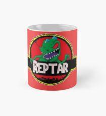 Taza clásica Dinosaurio, Parque Jurásico, reptar, Rugrats, verde, dientes, rudo, Camiseta,
