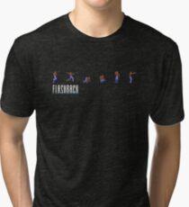 Flashback Action Sprites Tri-blend T-Shirt