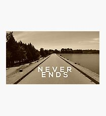 Never Ends Photographic Print