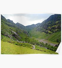 The Lost Valley of Glen Coe Poster