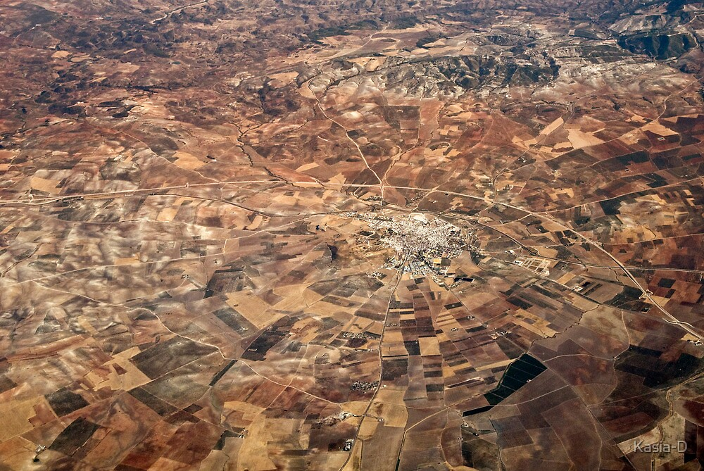 Arid Plains by Kasia-D