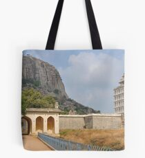 Gingee Fort in India Tote Bag