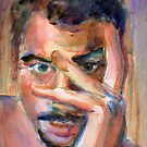 A Portrait A Day 11 - Tim Clary by Yevgenia Watts
