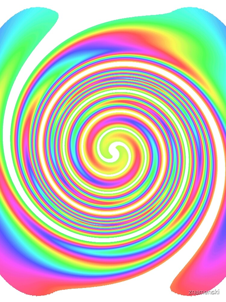 #vortex, #design, #spiral, #creativity, fun, illustration, shape, color image, circle, geometric shape by znamenski