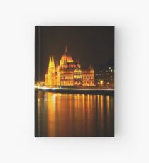 Budapest At Night Hardcover Journal