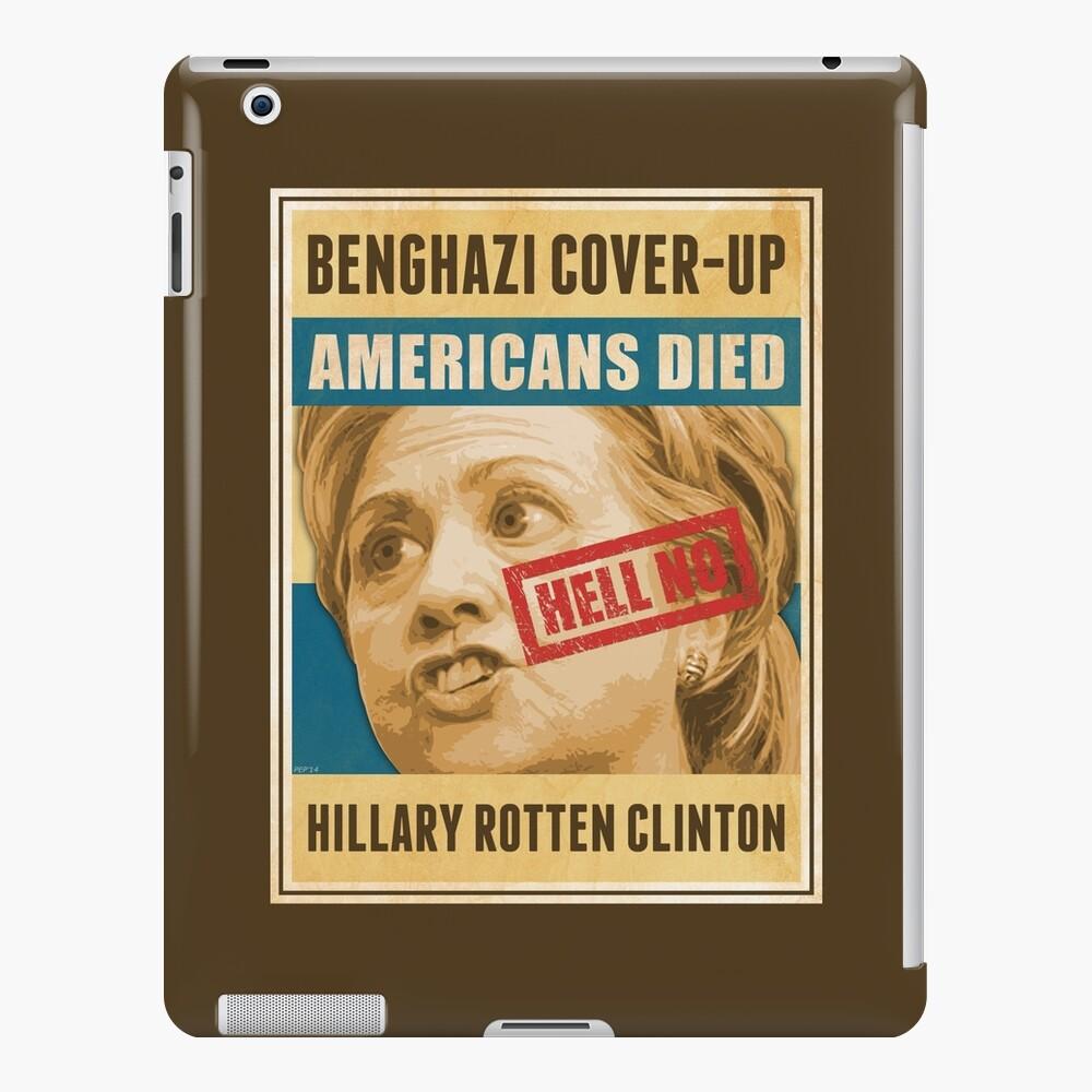 Hell No Hillary iPad Case & Skin