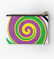 #vortex, #design, #spiral, #creativity, fun, illustration, shape, color image, circle, geometric shape Zipper Pouch
