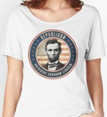 Republican President Abraham Lincoln Women's Relaxed Fit T-Shirt