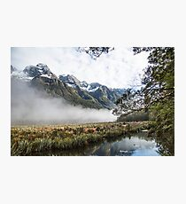 On the Road to Milford Sound Photographic Print
