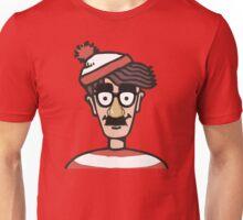Making himself harder to find Unisex T-Shirt