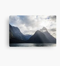 Milford Sound Metal Print