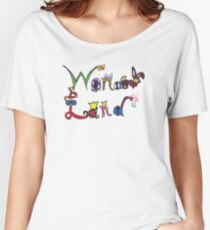 Characters of Wonder Land Women's Relaxed Fit T-Shirt