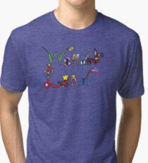 Characters of Wonder Land Tri-blend T-Shirt