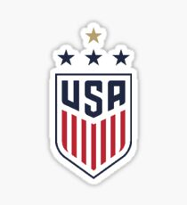 USWNT 4-Star Logo (Small) Sticker