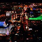 Las Vegas Strip by Meigel Art
