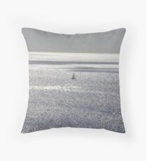 solo journey Throw Pillow