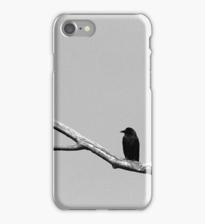 Lone Crow iPhone Case/Skin