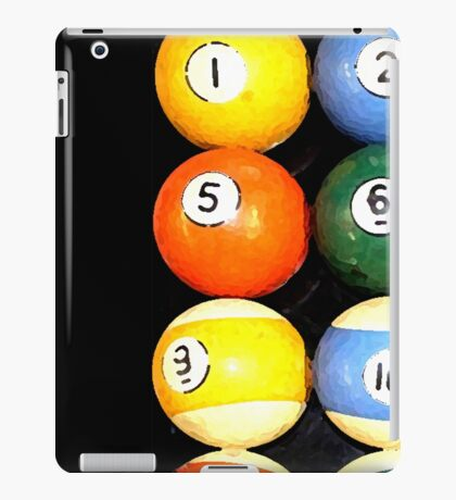 painted balls iPad Case/Skin