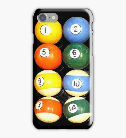 painted balls iPhone Case/Skin