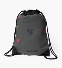 221B print Drawstring Bag