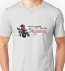 Santa Barbara City College Vaqueros Slim Fit T-Shirt