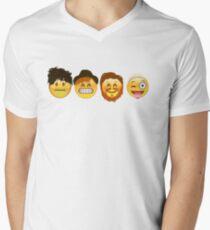 Fall Out Emojis Men's V-Neck T-Shirt