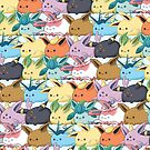 Eeveelutions Nuggets by LunarMageShop