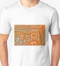 Grungy Skycam Room at Eastern State Penetentiary T-Shirt