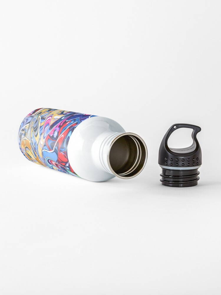 Alternate view of Colorful Graffiti  Water Bottle