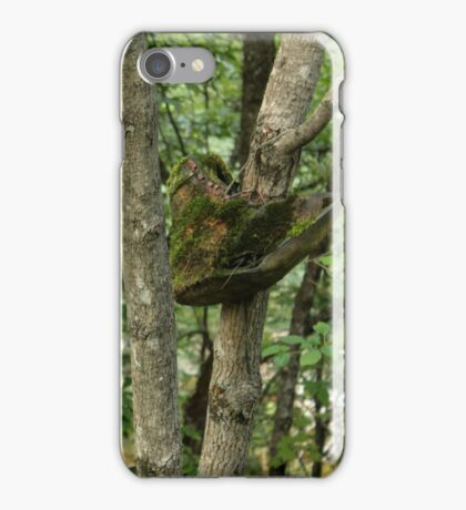 Becoming One with the Forest iPhone Case/Skin
