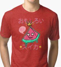 Juicy King Watermelon Tri-blend T-Shirt