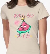 Juicy King Watermelon Fitted T-Shirt