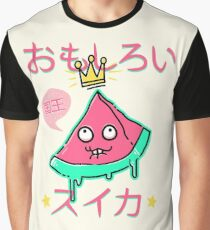 Juicy King Watermelon Graphic T-Shirt