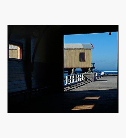 Queenscliff, Historic Pier Photographic Print