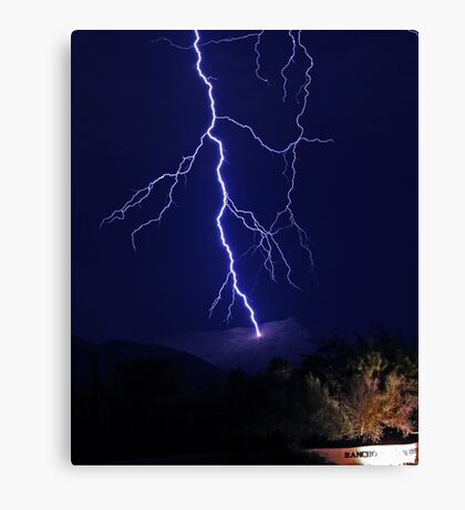 Strike Canvas Print