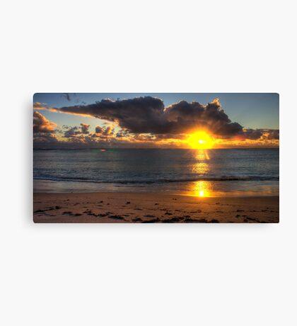 Coronation Beach sunset, WA Canvas Print