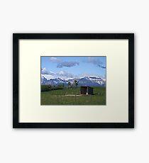 The Shelter Framed Print